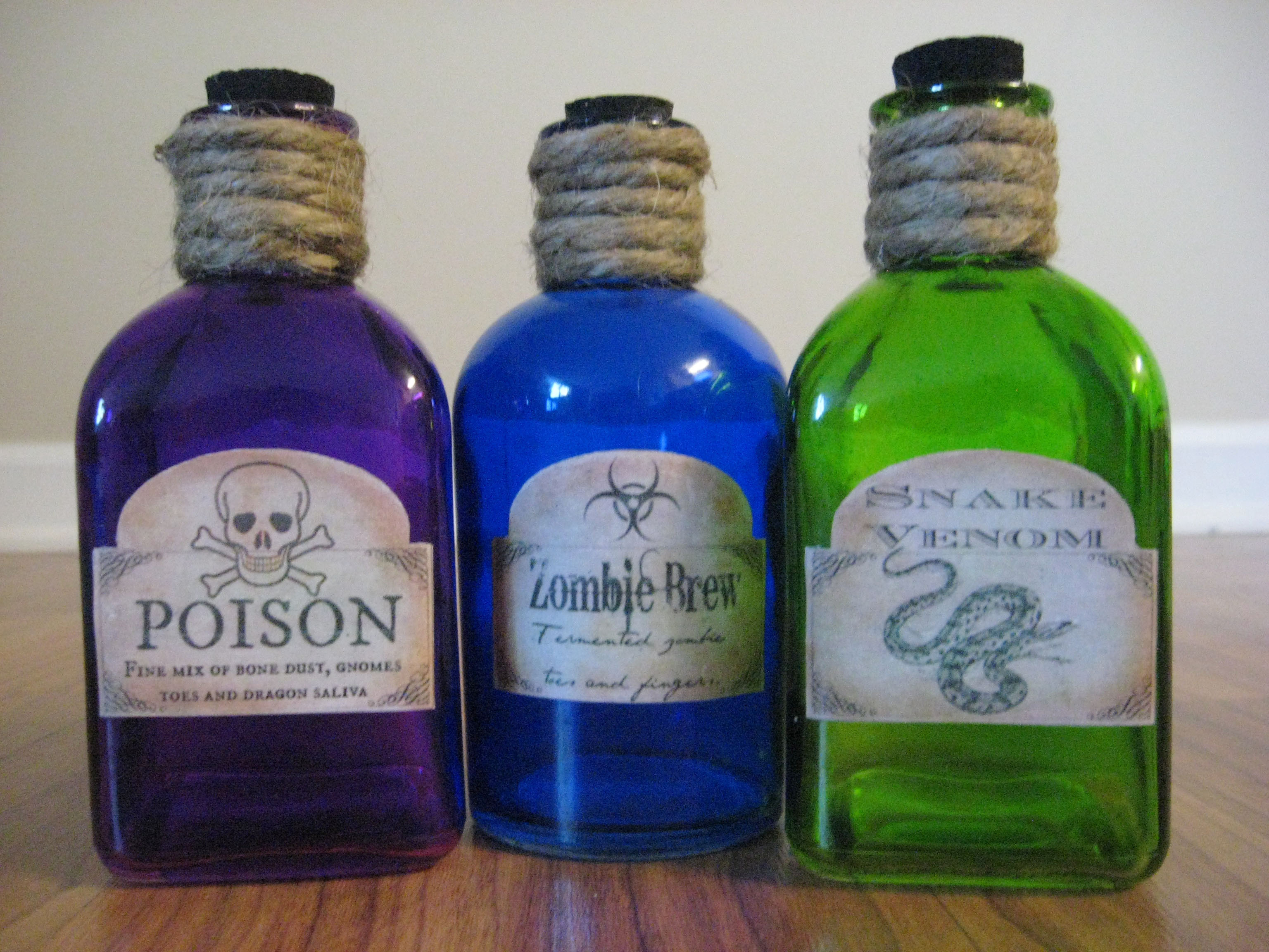 Best ideas about DIY Potion Bottles . Save or Pin DIY Halloween Potion Bottles Now.