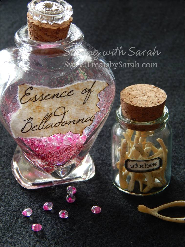 Best ideas about DIY Potion Bottles . Save or Pin Sweet Treats by Sarah Harry Potter Potion Bottles DIY Now.
