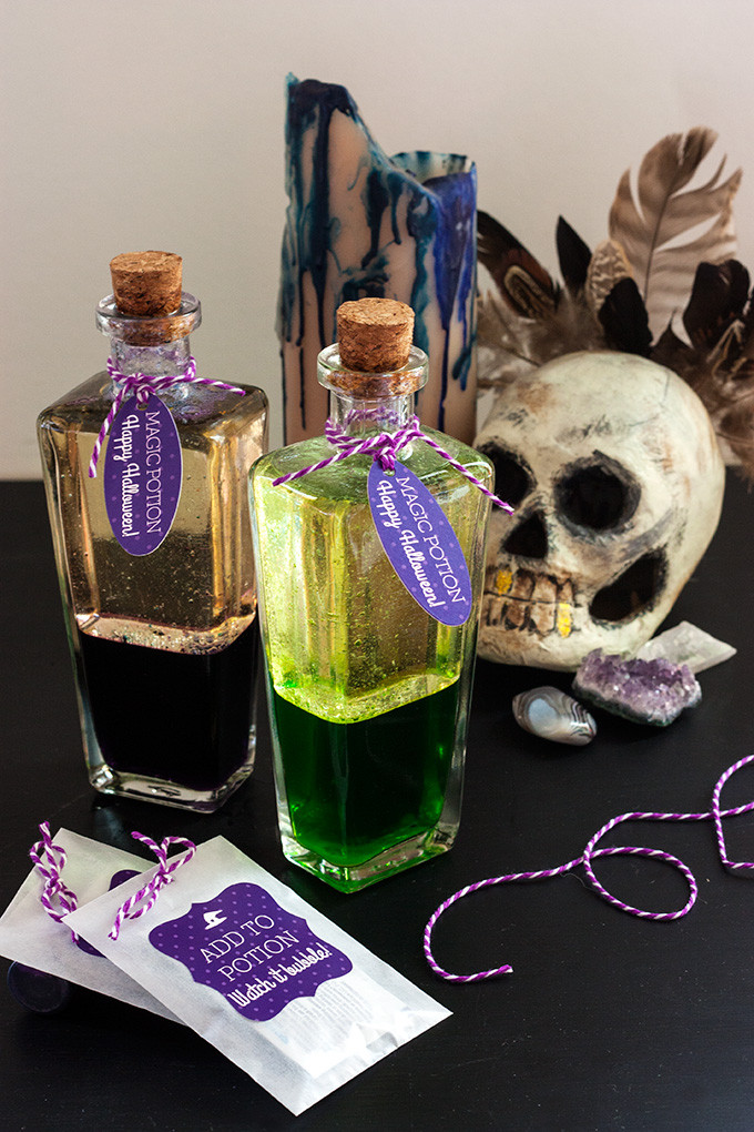 Best ideas about DIY Potion Bottles . Save or Pin DIY Magic Potion Bottles Now.