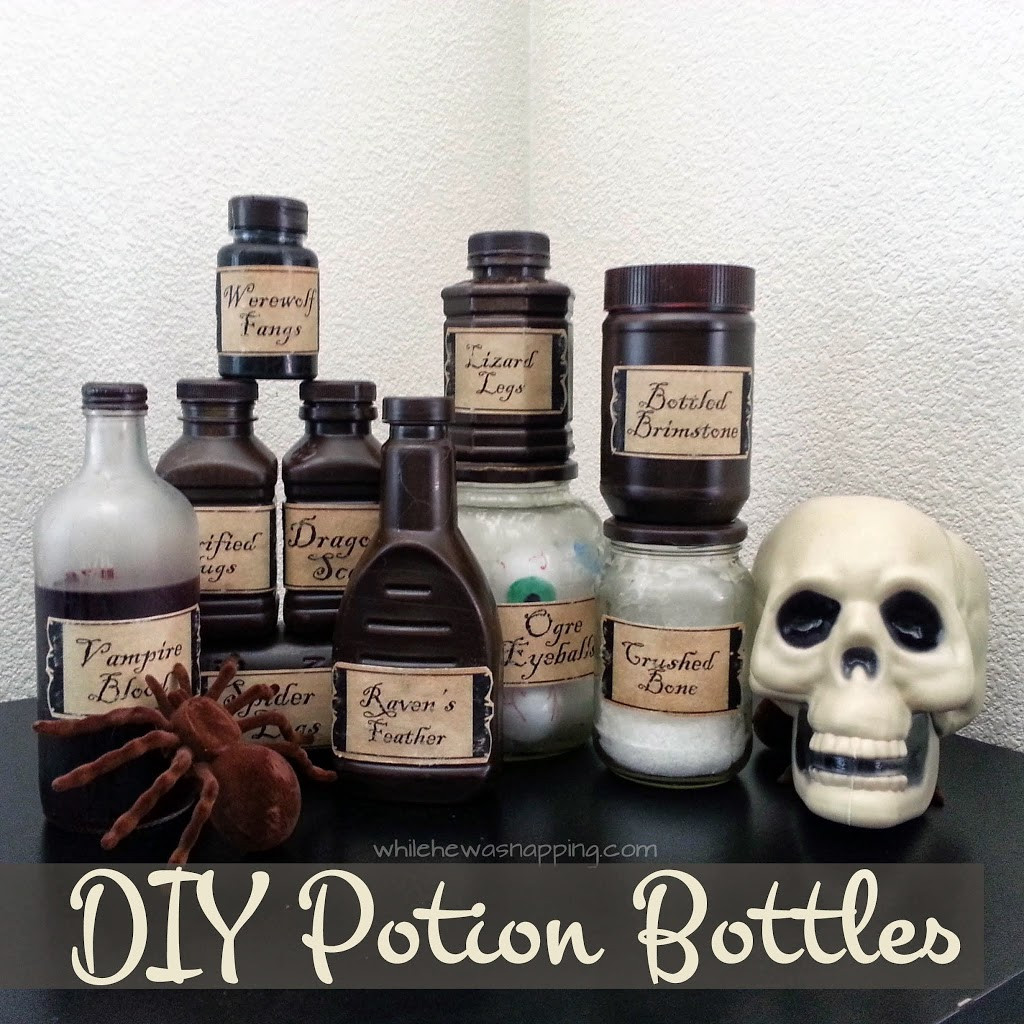 Best ideas about DIY Potion Bottles . Save or Pin DIY Witch s Potion Bottles Now.