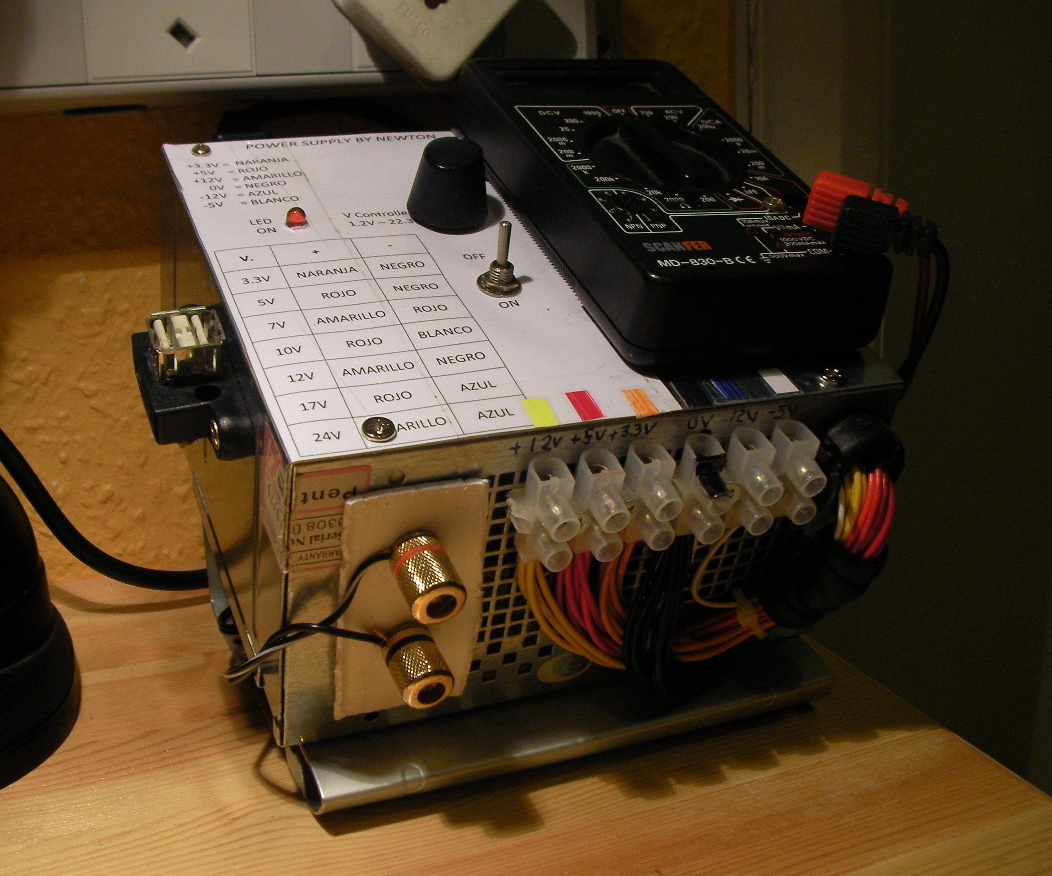 Best ideas about DIY Power Supplies . Save or Pin DIY PSU into Bench Power supply All Now.