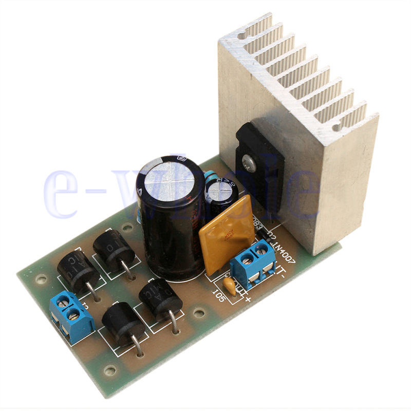 Best ideas about DIY Power Supplies . Save or Pin LT1083 Adjustable Regulated Power Supply Module DIY Kit GE Now.
