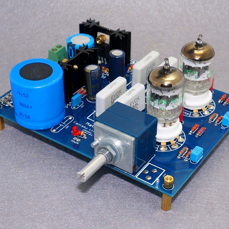 Best ideas about DIY Preamp Kit . Save or Pin Matsus circuit GE5670 6N3 Tube preamplifier board DIY Now.