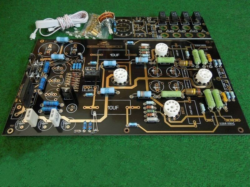 Best ideas about DIY Preamp Kit . Save or Pin Famous circuit 12AU7 12AX7 Tube preamplifier KIT DIY Now.
