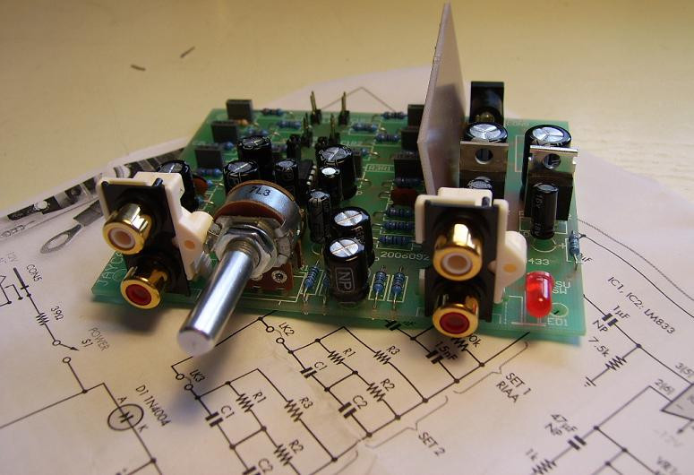 Best ideas about DIY Preamp Kit . Save or Pin DIY Moving Magnet Phono Preamplifier Build Hacked Now.