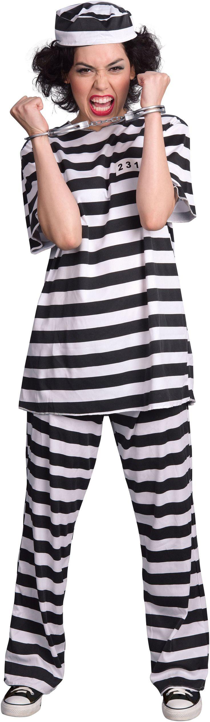 Best ideas about DIY Prisoner Costume . Save or Pin Female Prisoner Adult Costume Now.