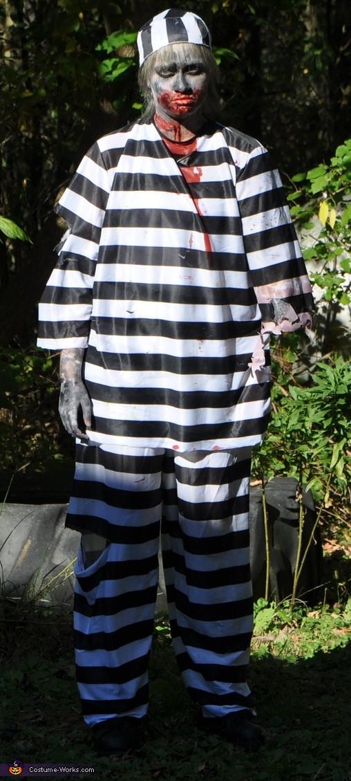 Best ideas about DIY Prisoner Costume . Save or Pin Bitten Prisoner Halloween Costume Now.
