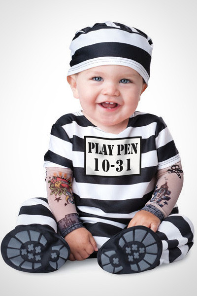 Best ideas about DIY Prisoner Costume . Save or Pin Halloween costumes kids 2012 baby prisoner Now.