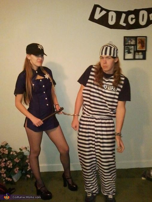 Best ideas about DIY Prisoner Costume . Save or Pin Police ficer and Prisoner Costume Now.