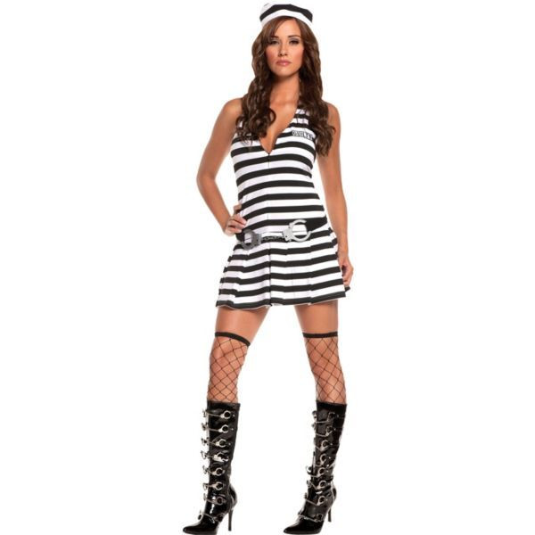 Best ideas about DIY Prisoner Costume . Save or Pin Adult Irresistible Inmate Prisoner Costume Now.