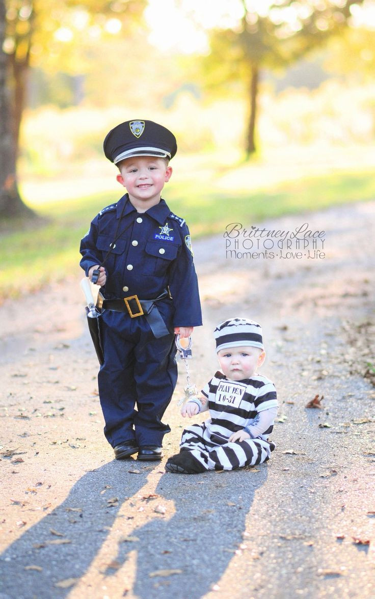 Best ideas about DIY Prisoner Costume . Save or Pin Policeman and prisoner 66a5b f a Now.
