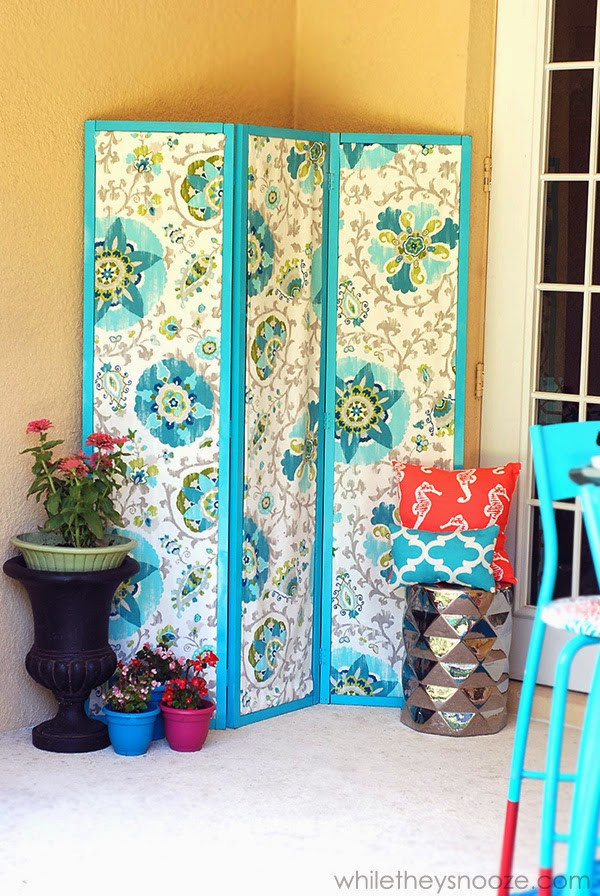 Best ideas about DIY Privacy Screen . Save or Pin While They Snooze DIY Outdoor Privacy Screen Now.