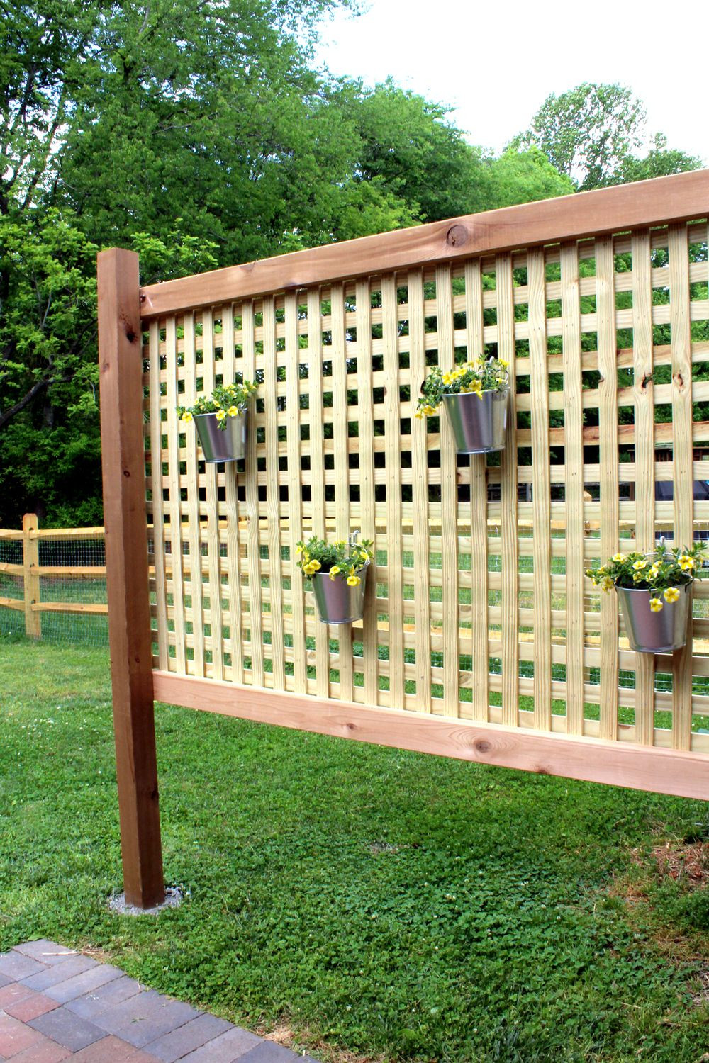 Best ideas about DIY Privacy Screen . Save or Pin Wood Patio Privacy Screen DIY Now.