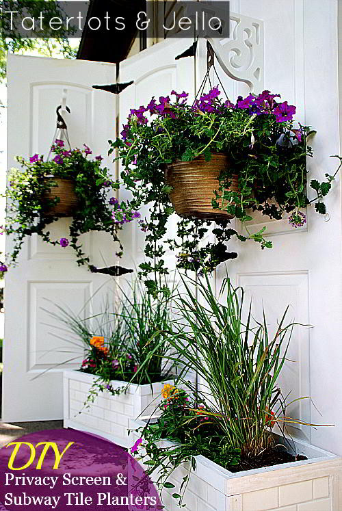 Best ideas about DIY Privacy Screen . Save or Pin Turn Old Closet Doors into an Outdoor Privacy Screen Now.