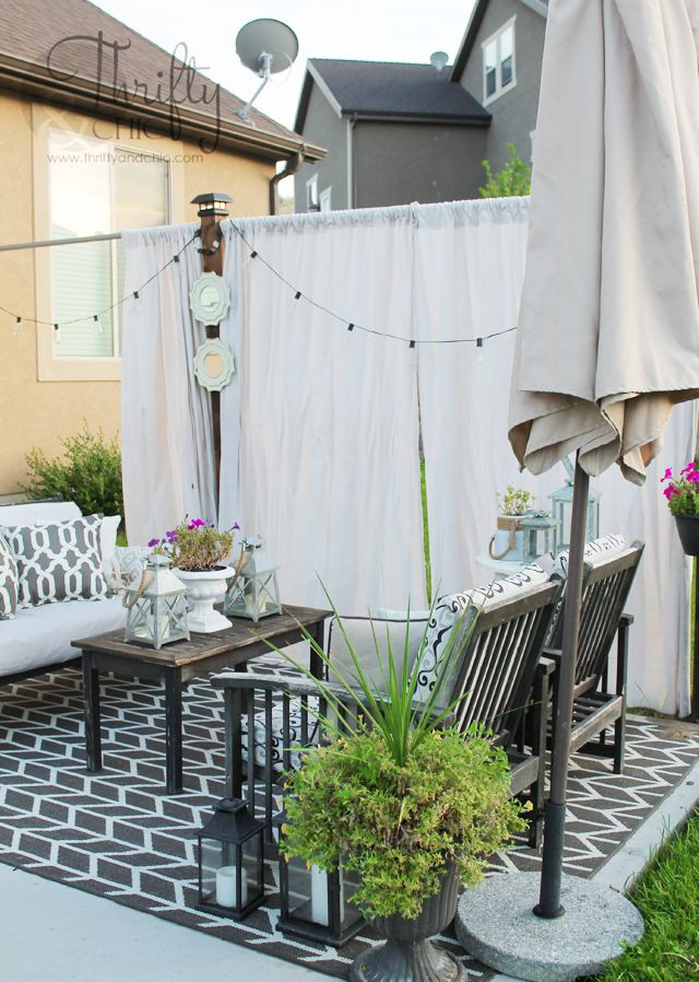 Best ideas about DIY Privacy Screen . Save or Pin DIY Outdoor Privacy Screen Now.