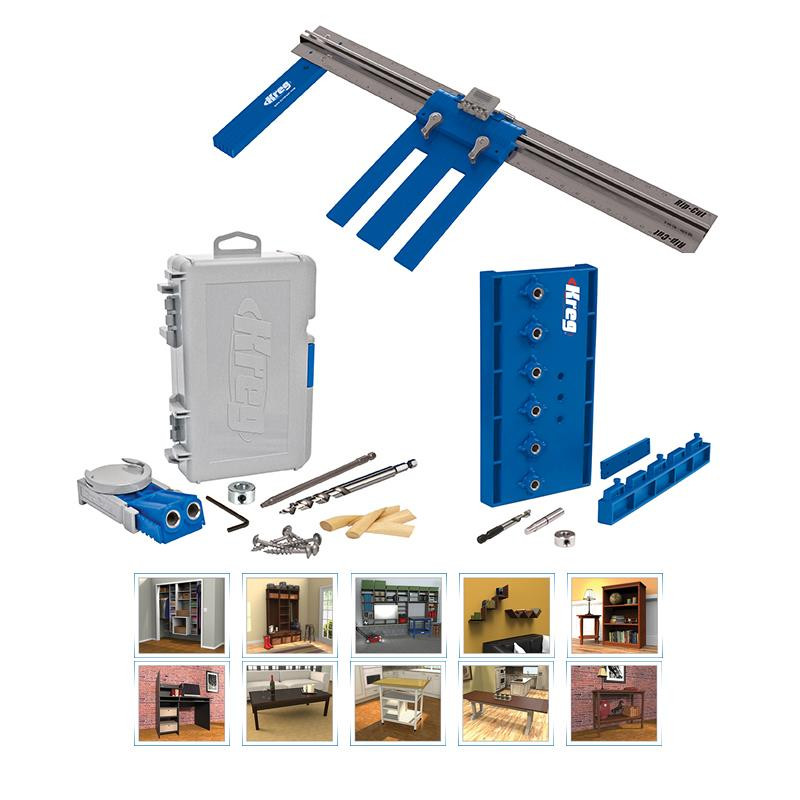 Best ideas about DIY Project Plans . Save or Pin Kreg DIY Project Kit 3 Must Have Tools for Custom Home Now.