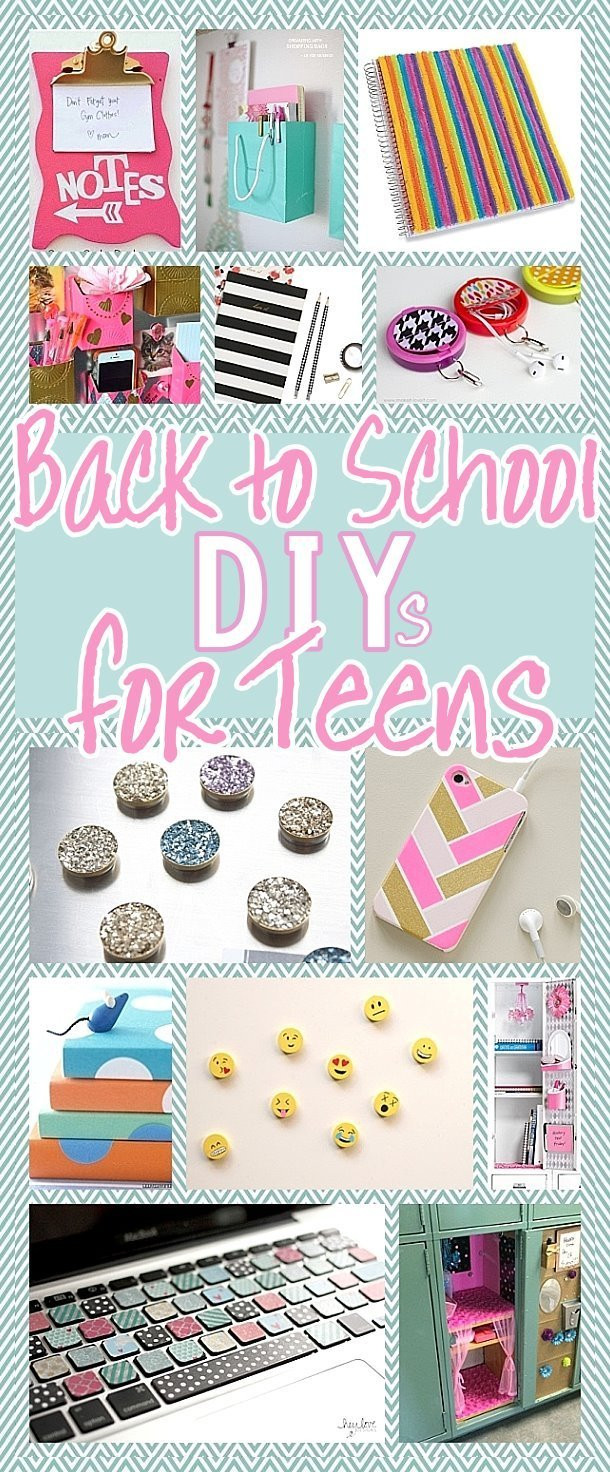 Best ideas about DIY Projects For Teens . Save or Pin The BEST Back to School DIY Projects for Teens and Tweens Now.