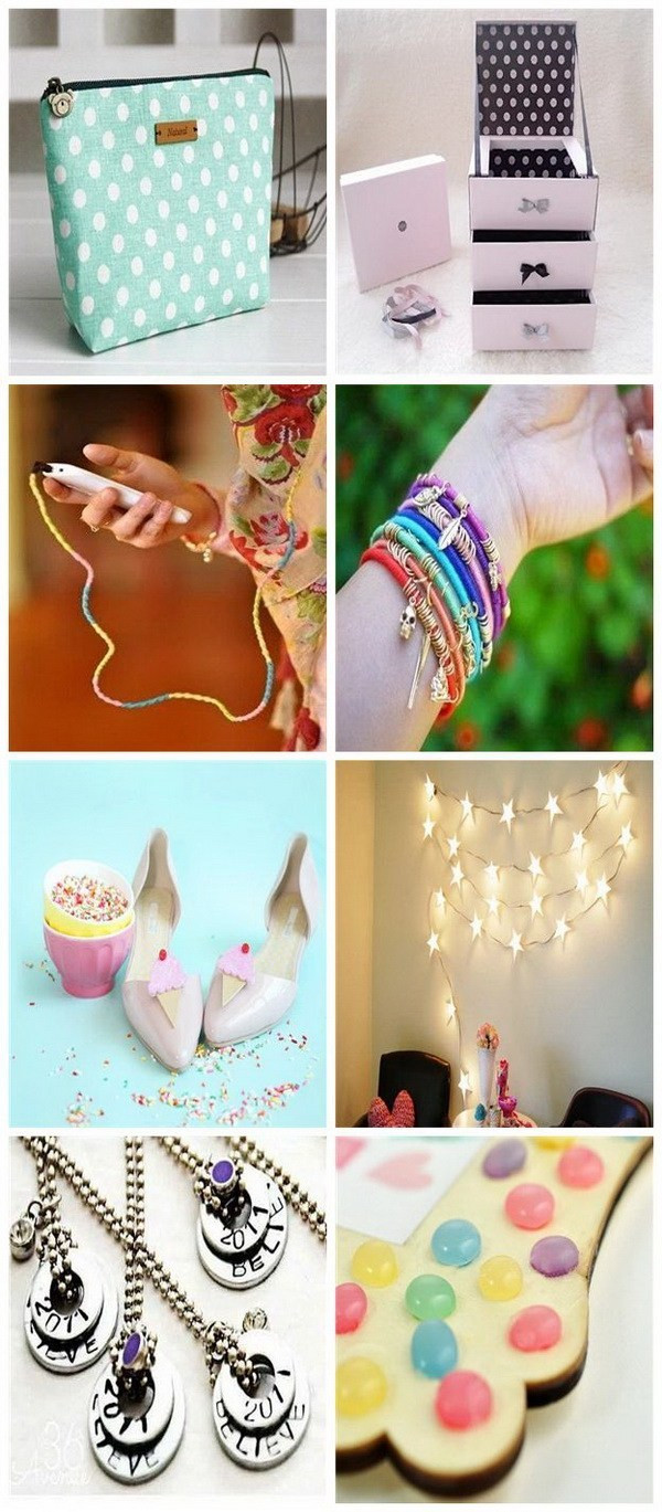 Best ideas about DIY Projects For Teens . Save or Pin 30 Cool DIY Projects for Teenage Girls For Creative Juice Now.