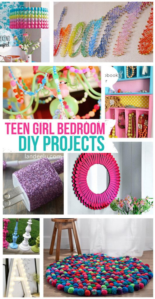 Best ideas about DIY Projects For Teens . Save or Pin Teen Girl Bedroom DIY Projects Now.