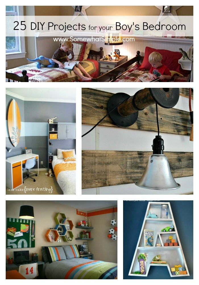 Best ideas about DIY Projects For Your Bedroom . Save or Pin DIY Boy Bedroom Projects 25 Ideas That Your Boy Will Now.