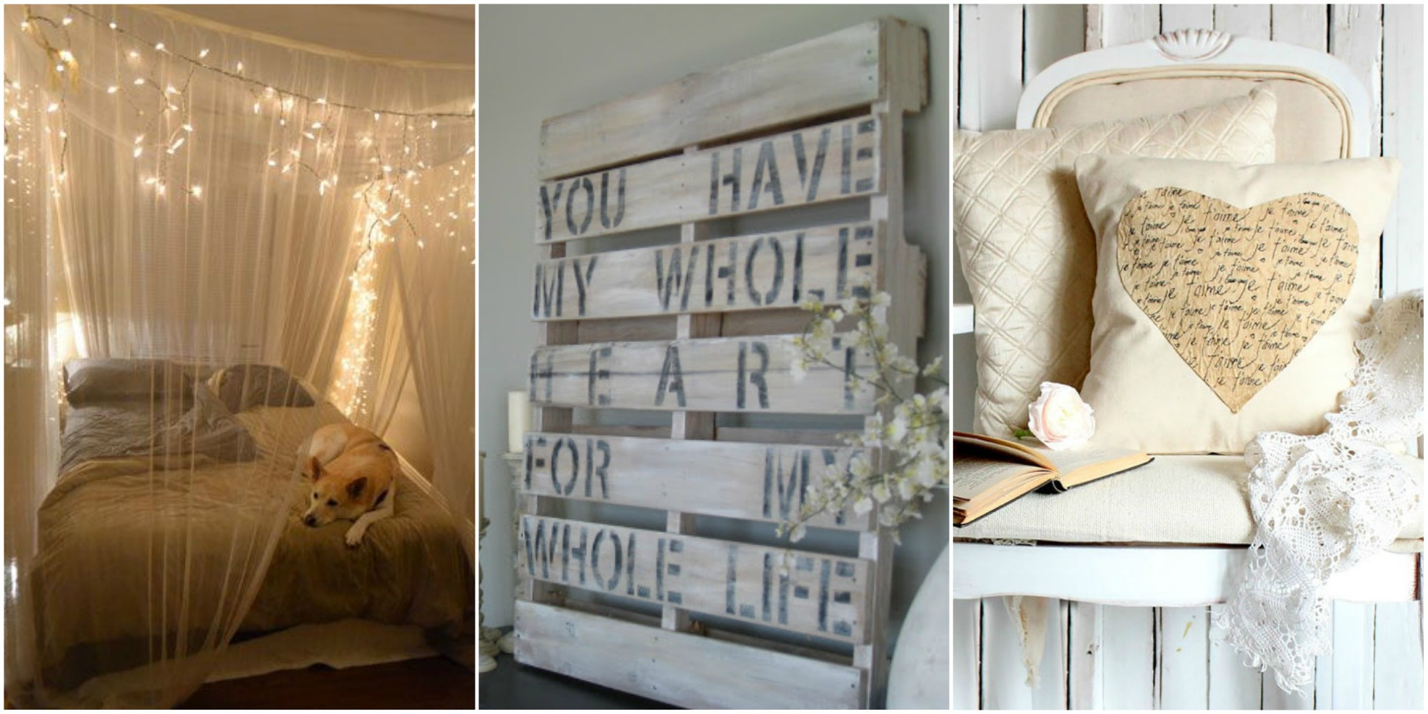 Best ideas about DIY Projects For Your Bedroom . Save or Pin 21 DIY Romantic Bedroom Decorating Ideas Country Living Now.
