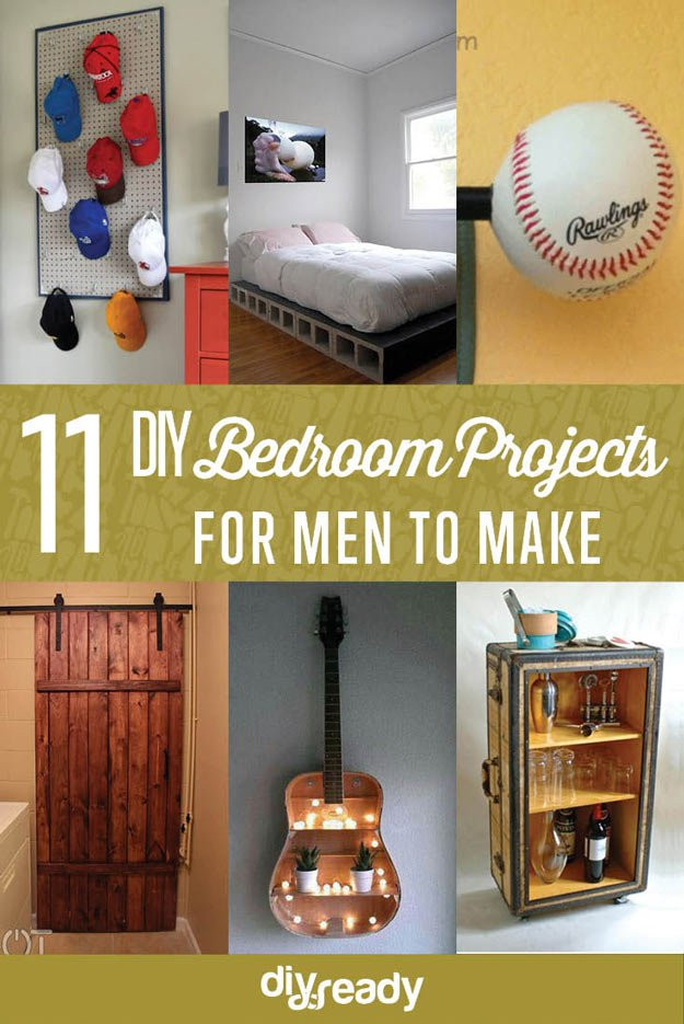 Best ideas about DIY Projects For Your Bedroom . Save or Pin DIY Bedroom Projects for Men DIY Ready Now.