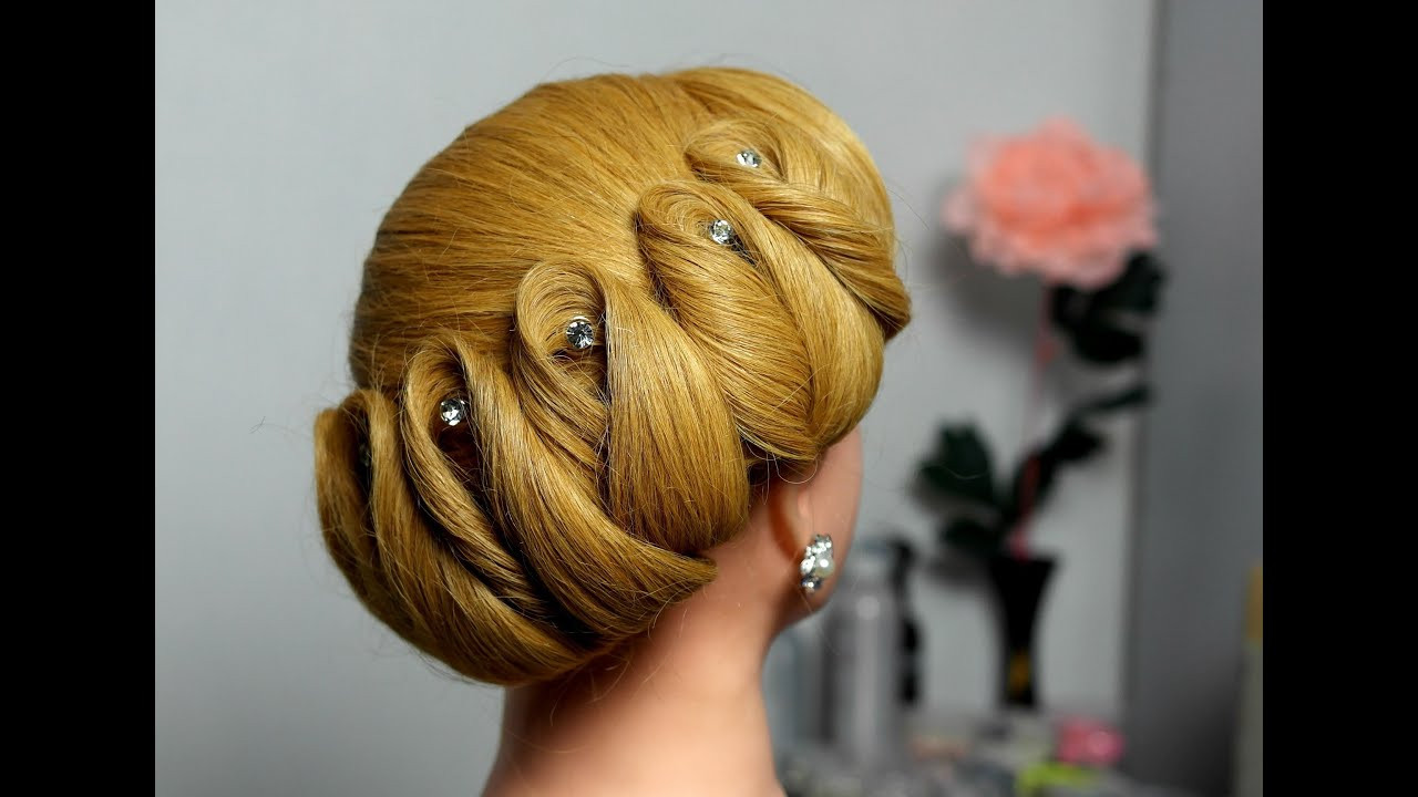 Best ideas about Diy Prom Hairstyle . Save or Pin Wedding prom updo hairstyles for long hair Вечерняя Now.