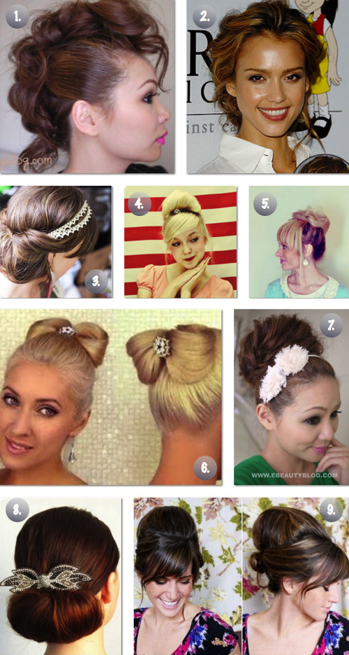 Best ideas about Diy Prom Hairstyle . Save or Pin 9 Easy Prom Wedding Updos The Frugal Female Now.