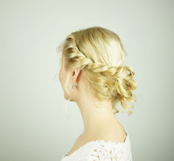 Best ideas about Diy Prom Hairstyle . Save or Pin Easy DIY prom hairstyle for girls with short to medium Now.