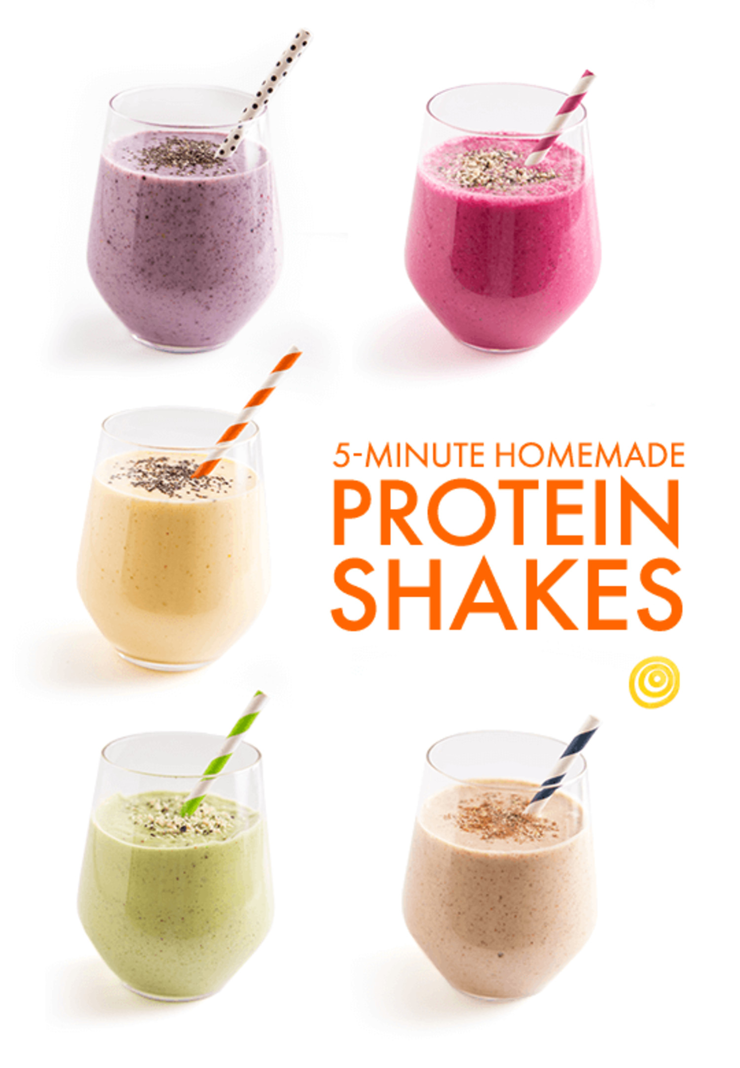 Best ideas about DIY Protein Shakes . Save or Pin 5 Minute Homemade Protein Shakes Now.