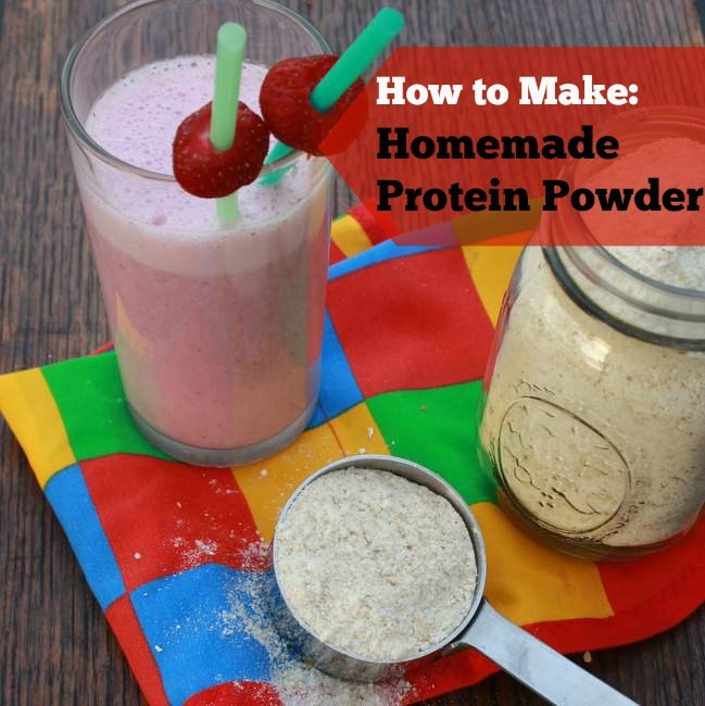Best ideas about DIY Protein Shakes . Save or Pin How to Make Homemade Protein Powder Now.