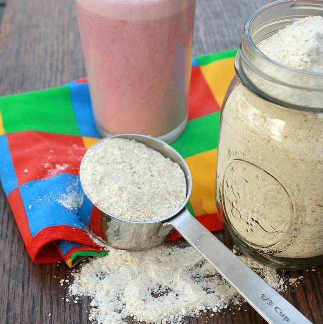 Best ideas about DIY Protein Shakes . Save or Pin How to Make Homemade Protein Powder Teaspoon of Spice Now.