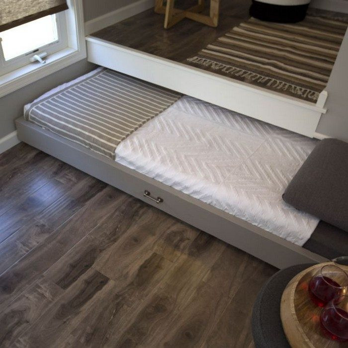 Best ideas about DIY Pull Out Bed . Save or Pin How to build a pull out bed under a platform floor Now.