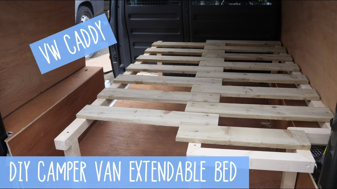Best ideas about DIY Pull Out Bed . Save or Pin VW Caddy Pull Out Extendable Bed DIY Camper Van Now.