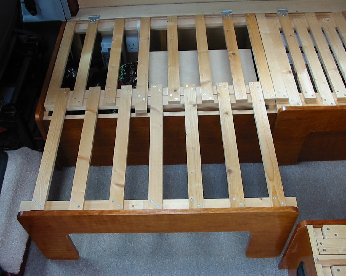 Best ideas about DIY Pull Out Bed . Save or Pin Deep Red A self build motorhome beds & seats Now.