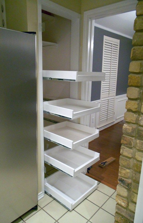 Best ideas about DIY Pull Out Shelves . Save or Pin DIY tutorial for pull out shelves Now.