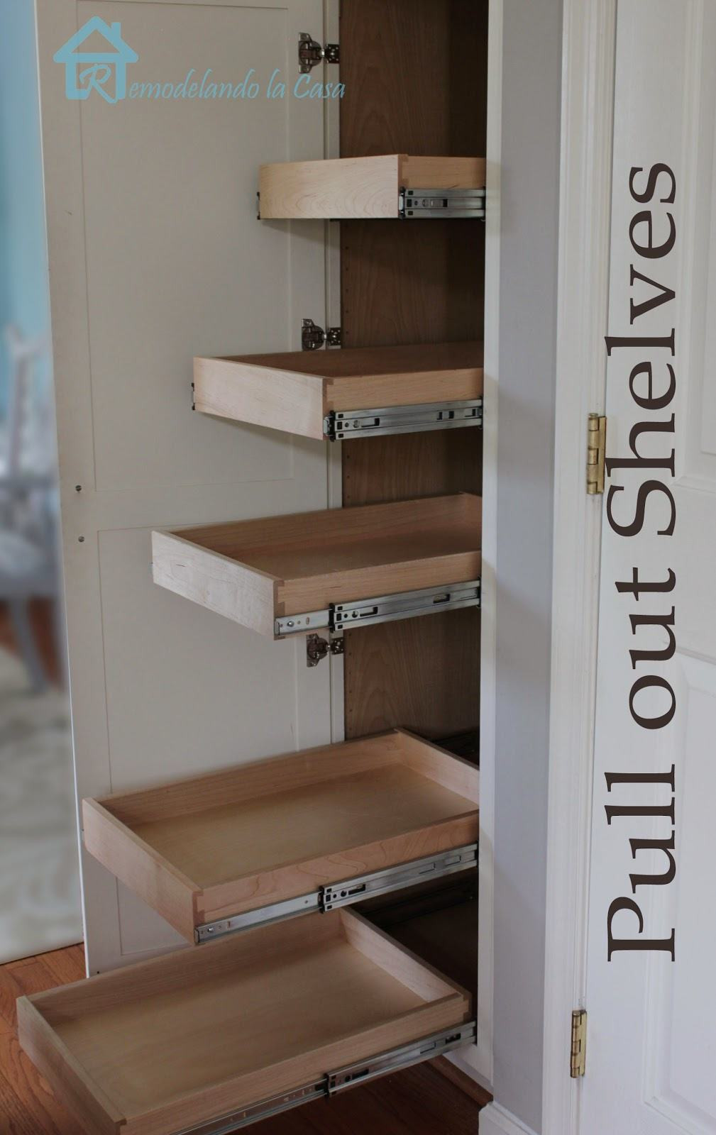 Best ideas about DIY Pull Out Shelves . Save or Pin Cheap Home Improvement Ideas DIY Projects Craft Ideas Now.