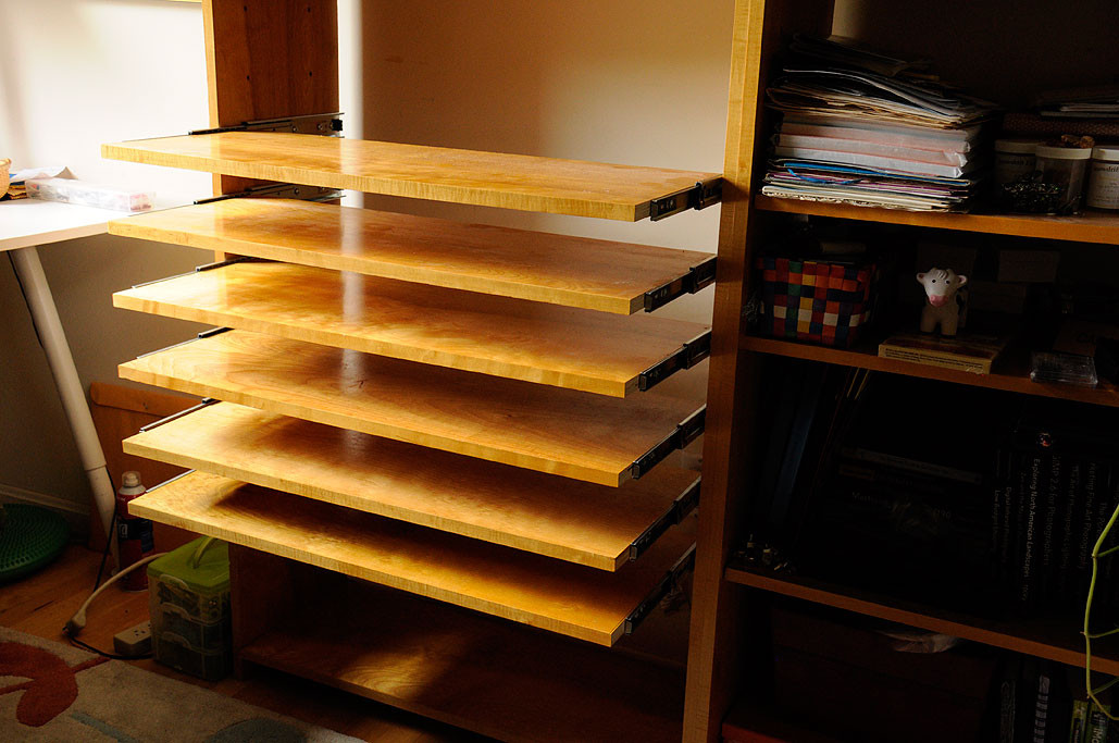 Best ideas about DIY Pull Out Shelves . Save or Pin Slide Out Shelves DIY Now.