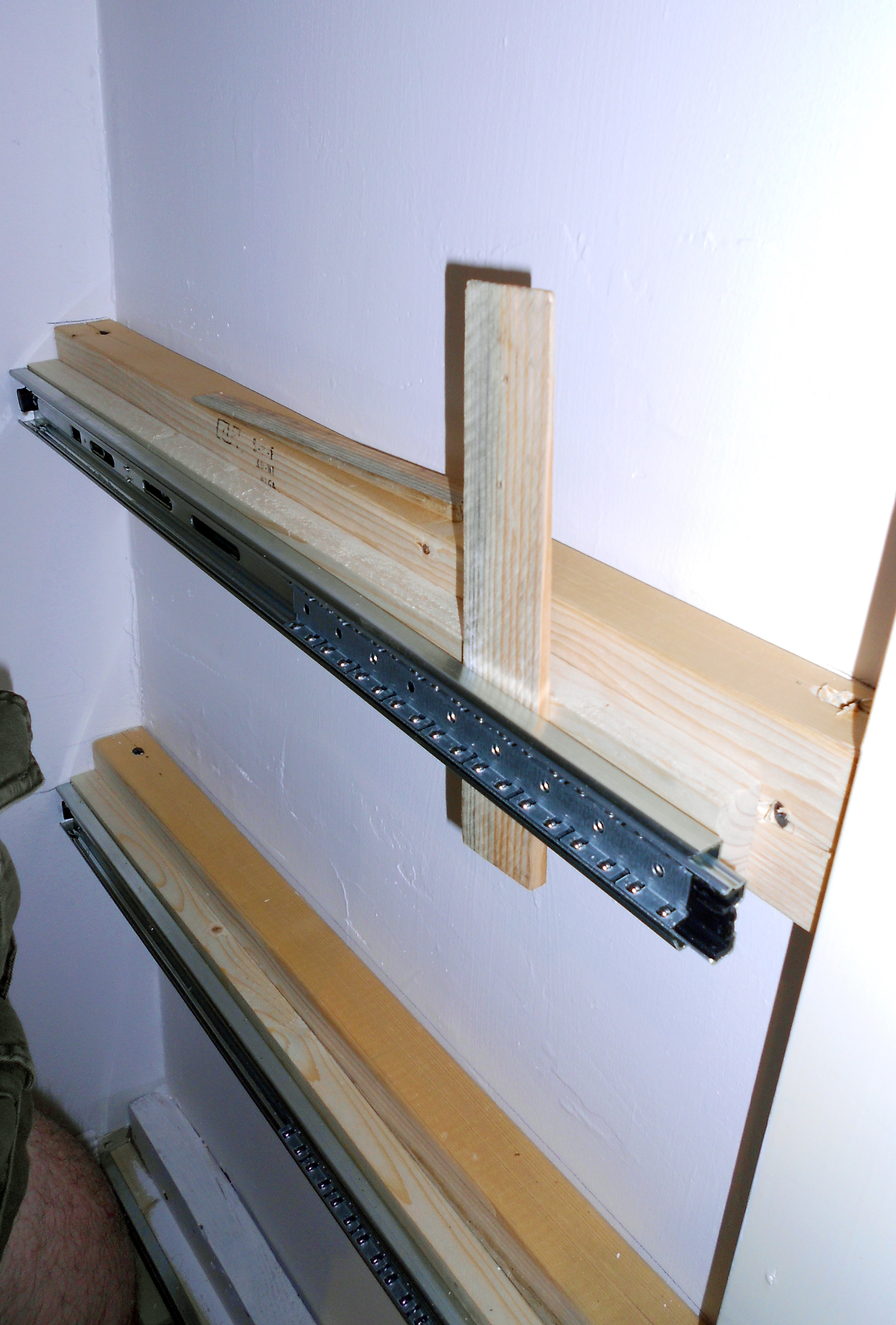 Best ideas about DIY Pull Out Shelves . Save or Pin Extended Shelf Life Now.
