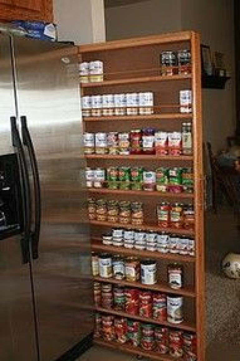 Best ideas about DIY Pull Out Spice Rack . Save or Pin 29 Insanely Clever Kitchen Ideas Now.