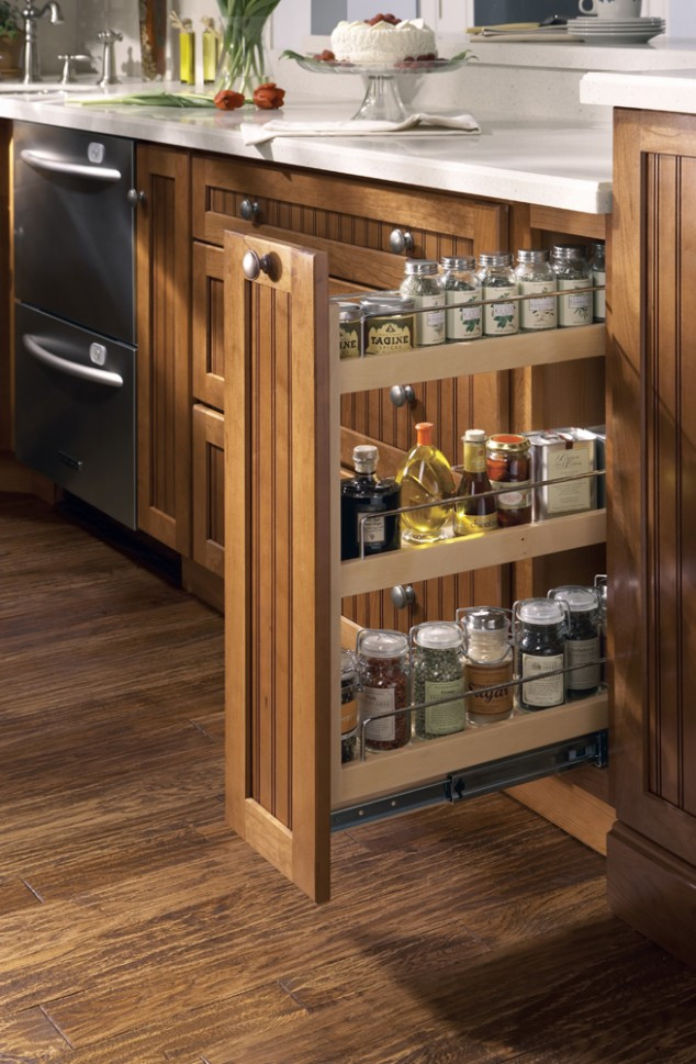 Best ideas about DIY Pull Out Spice Rack . Save or Pin DIY 20 Clever Kitchen Spices Organization Ideas Now.
