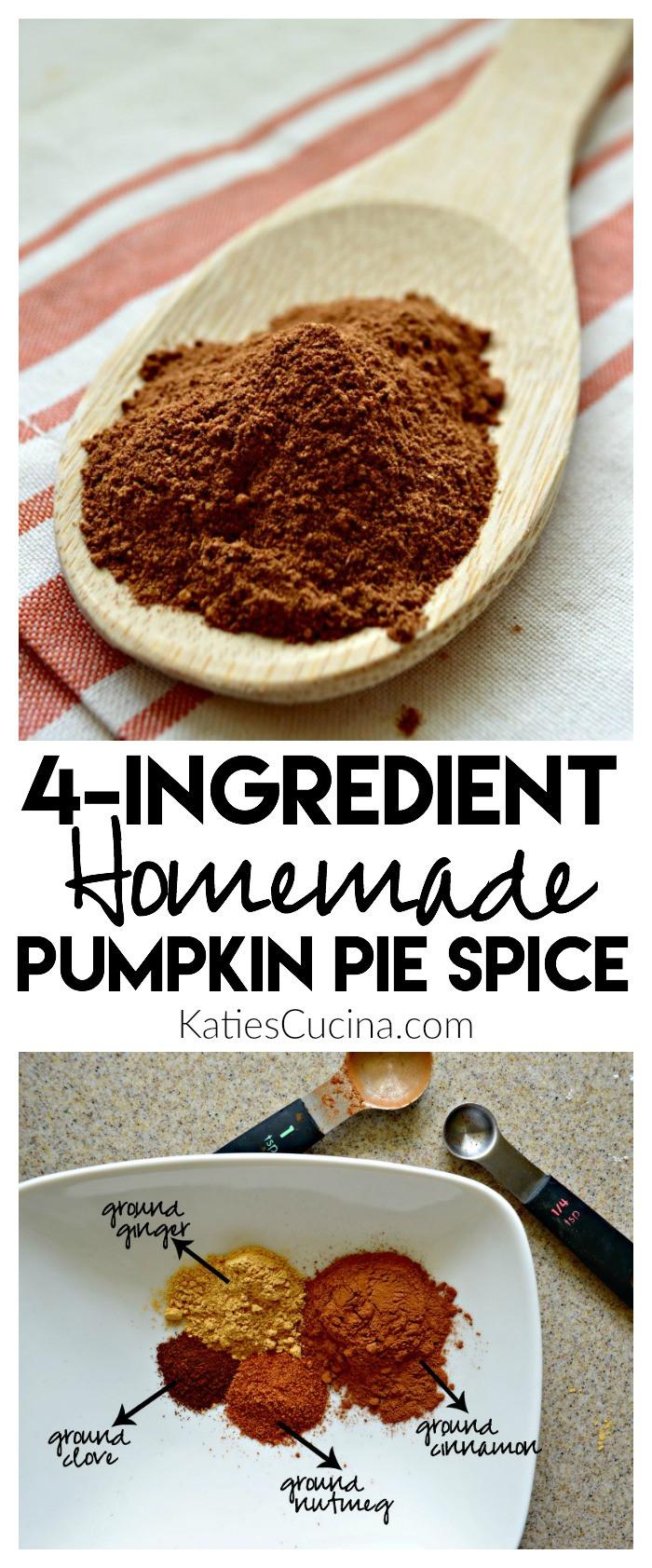 Best ideas about DIY Pumpkin Pie Spice . Save or Pin Homemade Pumpkin Pie Spice Katie s Cucina Now.