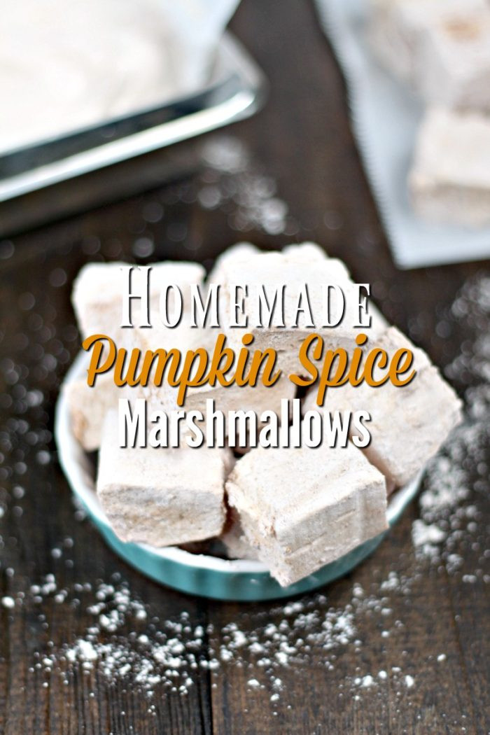 Best ideas about DIY Pumpkin Spice . Save or Pin Homemade Pumpkin Spice Marshmallows A Blossoming Life Now.