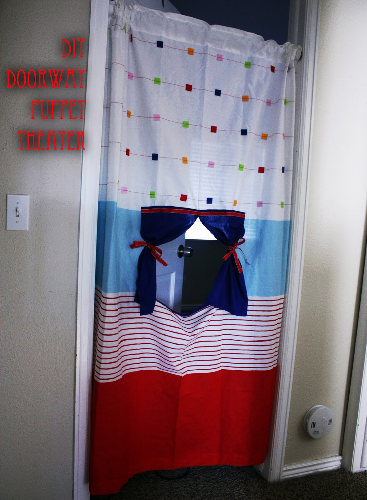 Best ideas about DIY Puppet Theater . Save or Pin Fisher s Mommy DIY Doorway Puppet Theater Now.