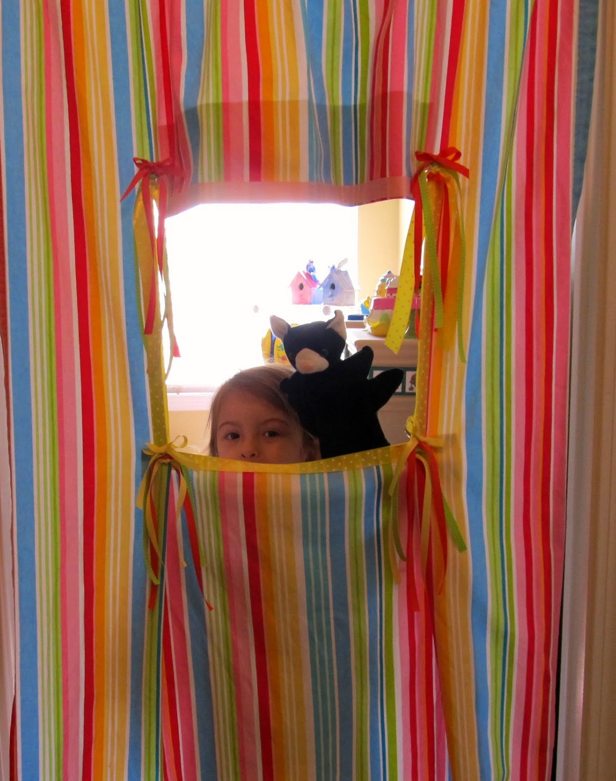 Best ideas about DIY Puppet Theater . Save or Pin Love & Sugar Kisses DIY Puppet Theater Now.