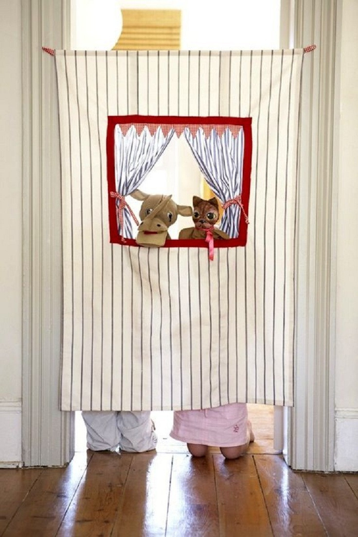 Best ideas about DIY Puppet Theater . Save or Pin Top 10 Fun And Simple Upcycled DIY Kids Projects Top Now.