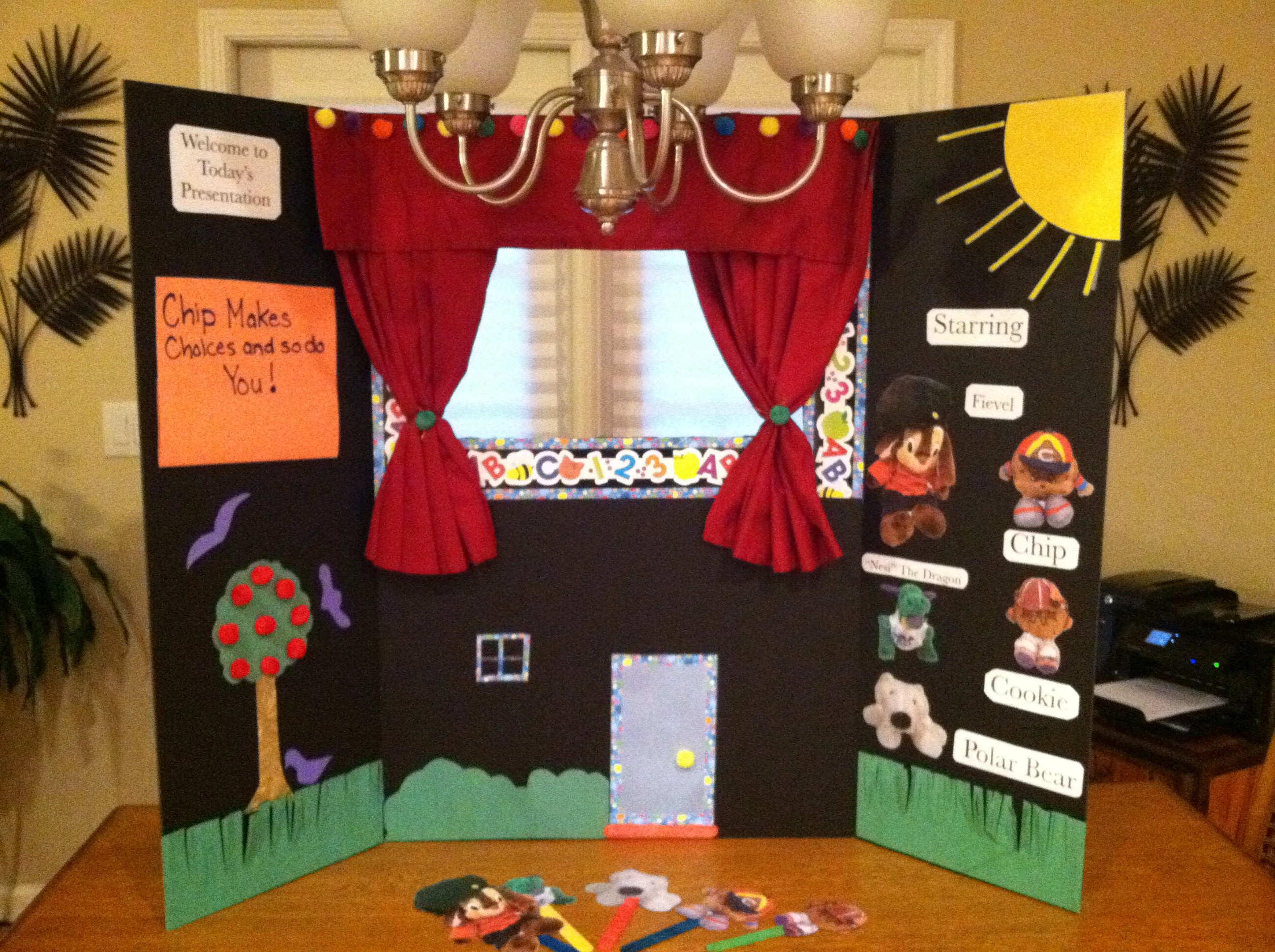 Best ideas about DIY Puppet Theater . Save or Pin DIY No Sew Puppet Theater and More Streamer Fun Now.