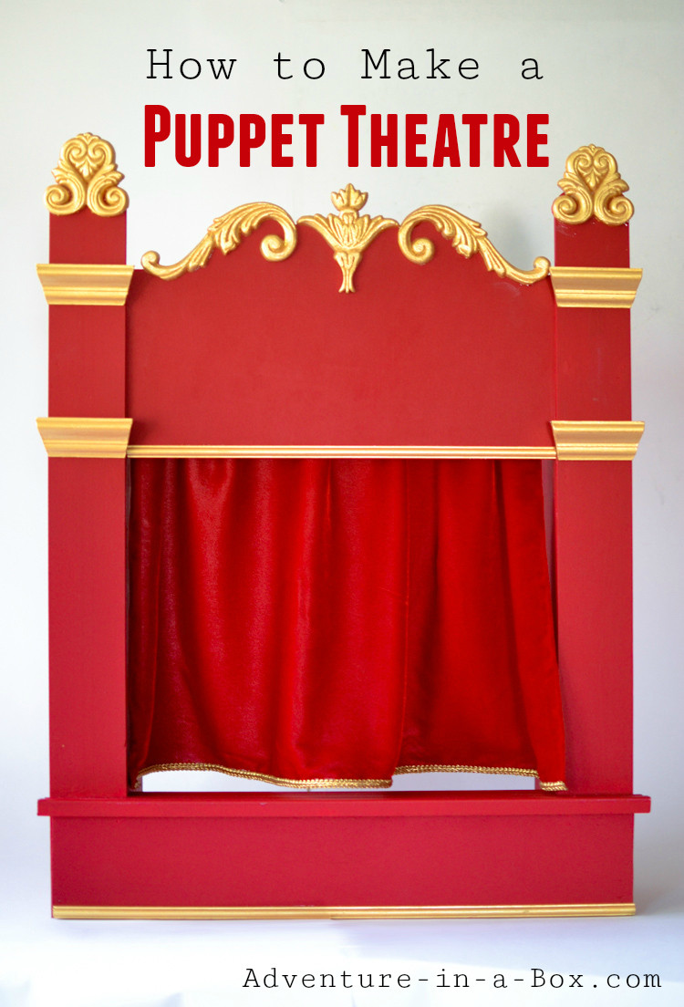 Best ideas about DIY Puppet Theater . Save or Pin How to Make a Puppet Theatre for Children DIY Tutorial Now.