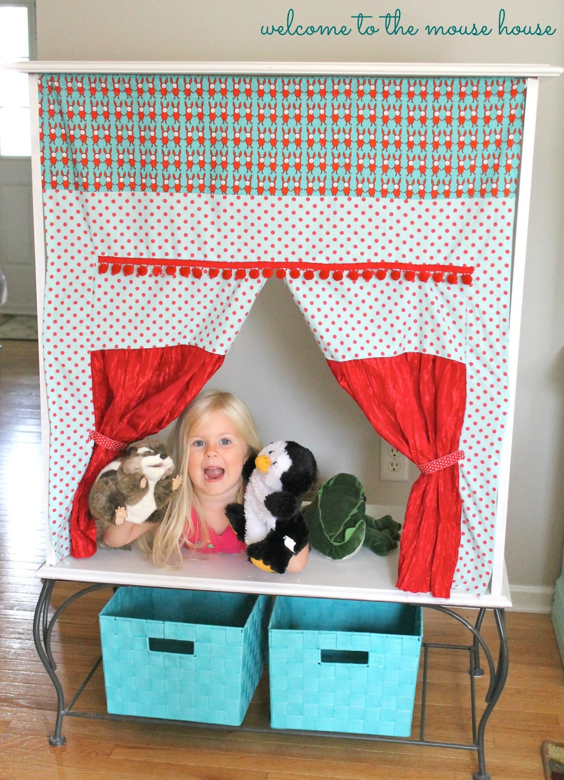 Best ideas about DIY Puppet Theater . Save or Pin The Puppet Theater Cabinet Easy DIY Now.