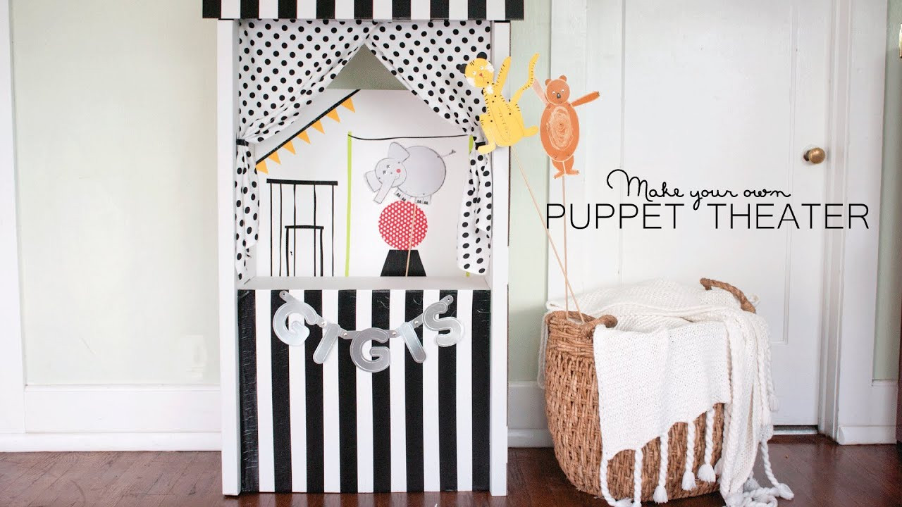 Best ideas about DIY Puppet Theater . Save or Pin DIY Puppet Theater Now.